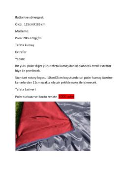 Afet Barınak Paketi Malzeme Talimatı