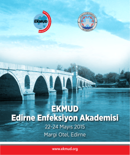 EKMUD Edirne Enfeksiyon Akademisi