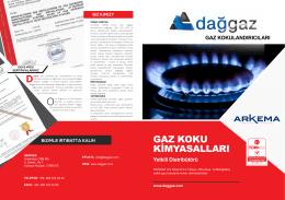 gaz koku kimyasalları
