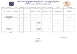 1 1010 Askeri Cezaevi ve Tutukevleri Personeli Eğitimi 16
