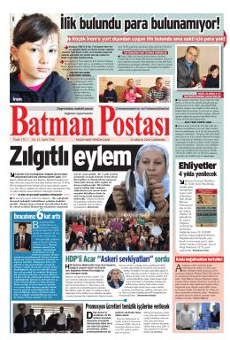 """HDP`li Acar """"Askeri sevkiyatları""""sordu"""
