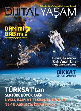 Dergiyi PDF Oku - Dijital İletişim Teknolojileri İhtisas Dergisi