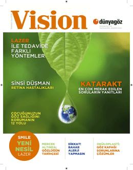 İlkbahar-Yaz 2015 - Dünya Göz Hastanesi