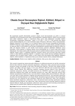 Asiye Kumru - Türk Psikoloji Yazıları