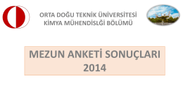 mezun anketi sonuçları 2014