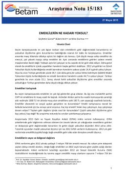 ArastirmaNotu183 - Betam - Bahçeşehir Üniversitesi