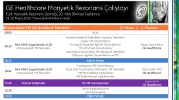 GE Healthcare Manyetik Rezonans Çalıştayı