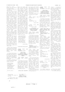 Esas Sözleşme Tarihi 29 MAYIS 2015 Sayı