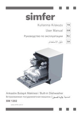 Kullanma Kılavuzu User Manual Руководство по