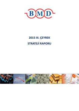 2015 ııı. çeyrek strateji raporu