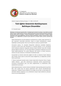 Dinamikler - Prof.Dr. Mustafa Ergün