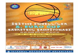 İşitme Engelliler 6. EURO CUP Basketbol Şampiyonası