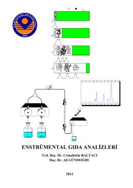 enstrümental gıda analizleri ders notları