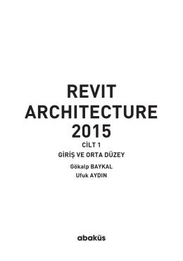 revıt archıtecture 2015 - Türkçe Revit Kitapları