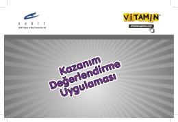 Vitamin KDU ve Süreç İzleme Sınavları ile ilgili