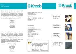 Ürünler Tanıtım katalog