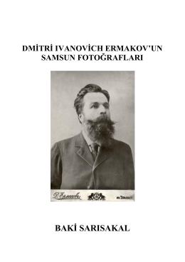 Dmitri Ivanovich Ermakov`un Samsun Fotoğrafları