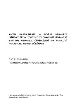 Patoloji Rotasyon Rehberi