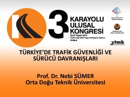 1. Prof.Dr. Nebi SÜMER
