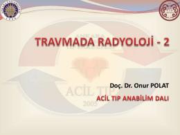 travma radyolojisi 2