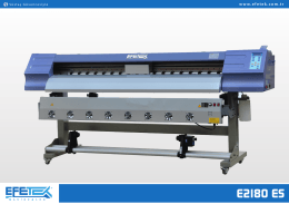 E2180 ES - Eco Solvent Digital Printer