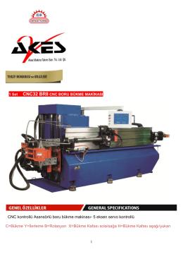 CNC kontrollü Asansörlü boru bükme makinası- 5