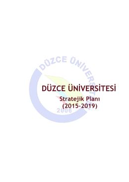 düzce üniversitesi 2015
