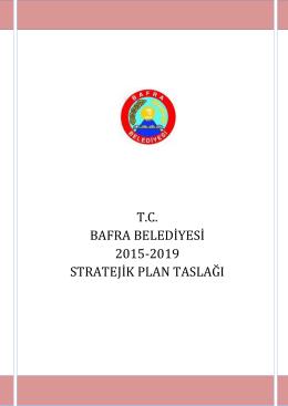 2015-2019 bafra belediyesi stratejik planı