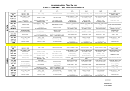 2015-2016 eğitim öğretim yılı özel başarım temel lisesi yazılı sınav