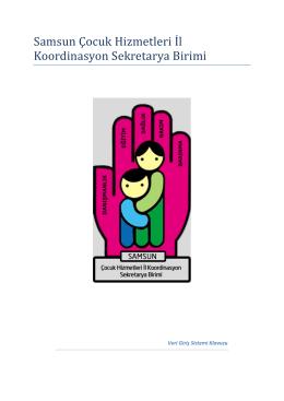 VGS El Kitabı - Samsun Aile ve Sosyal Politikalar İl Müdürlüğü