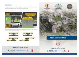 Adana Şehir Hastanesi Broşürü