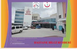HASTANE BİLGİ REHBERİ - Çankırı Devlet Hastanesi