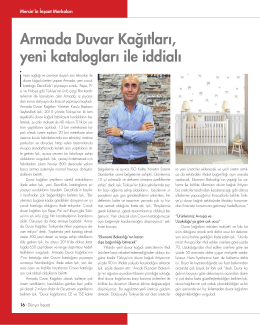 Armada Duvar Kağıtları, yeni katalogları ile iddialı