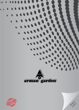 Arman Garden Dış Mekan Kataloğu indir