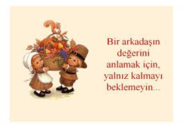 Arkadaşlık Dostluk - Mehmet Akif Ersoy İlkokulu