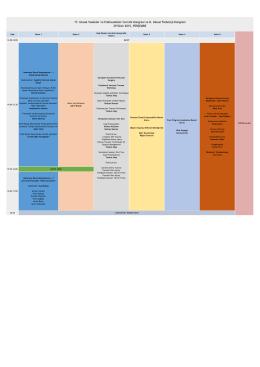 17. Ulusal Vasküler ve Endovasküler Cerrahi Kongresi ve 8. Ulusal