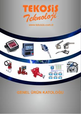 SON KATALOG - akaryakıt pompaları,otomasyon sistemleri