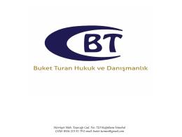 Buket TURAN Avukat | İstanbul