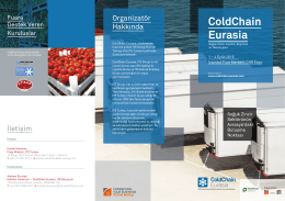 ColdChain Eurasia Brosur