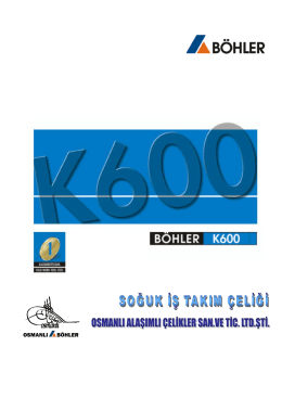 böhler k600