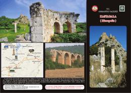 kastabala kalesiii - Osmaniye İl Kültür ve Turizm Müdürlüğü