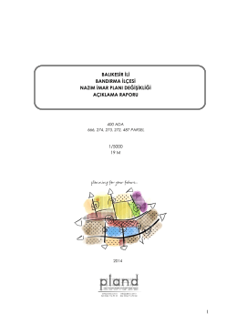 Plan Açıklama Raporu