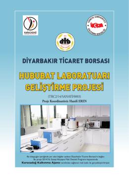 hububat laboratuarı geliştirme projesi
