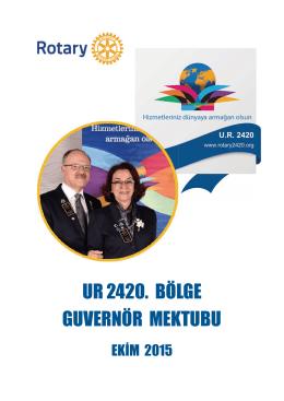 UR 2420 - Rotary 2440. Bölge