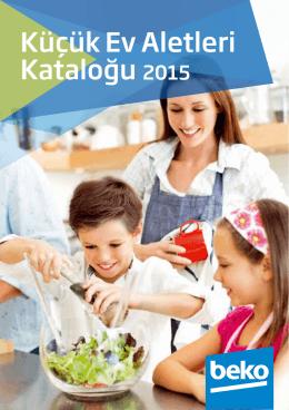 Küçük Ev Aletleri Kataloğu 2015