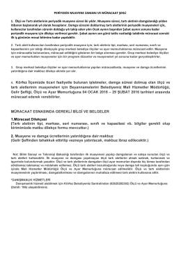 4. Körfez İlçemizde ticari faaliyette bulunan işletmeler, damga süresi
