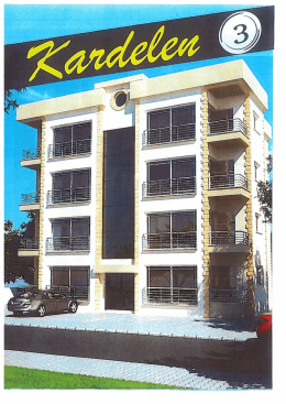 Yapım İnşaat Müteahhitlik Ltd`e ait Satışta olan Apartman