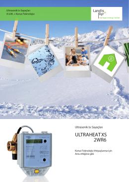 t350 / 2wr6 ultrasonic kalorimetre