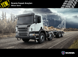 Yeni Scania Mikser Serisi