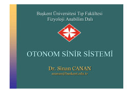 OTONOM SİNİR SİSTEMİ